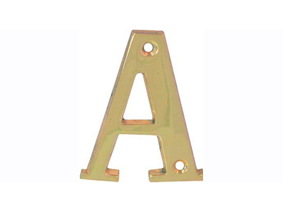 hardware-shelf-systems/door-numbers/polished-brass-letter-a-house-number-65-mm