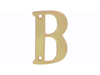 hardware-shelf-systems/door-numbers/polished-brass-letter-b-house-number-65-mm