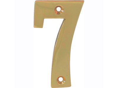 hardware-shelf-systems/door-numbers/polished-brass-number-7-house-number-65mm