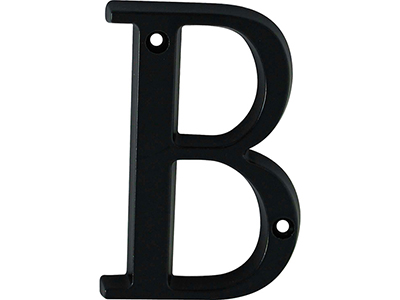 hardware-shelf-systems/door-numbers/black-aluminium-letter-b-house-number-97-mm
