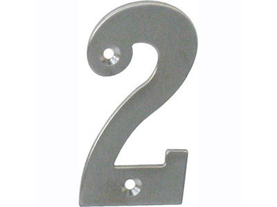 hardware-shelf-systems/door-numbers/inox-number-2-house-number-65mm