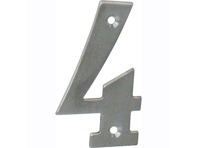 hardware-shelf-systems/door-numbers/inox-number-4-house-number-65mm