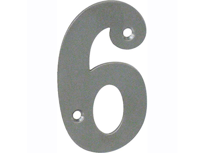 hardware-shelf-systems/door-numbers/inox-number-6-house-number-65mm