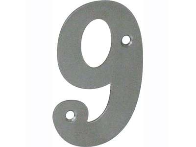 hardware-shelf-systems/door-numbers/inox-number-9-house-number-65-mm