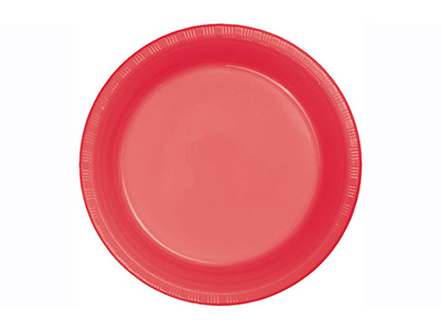 dinnerware/party-items/coral-plastic-dinner-plate