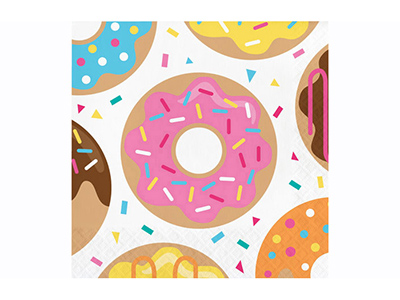 dinnerware/party-items/donut-time-luncheon-napkin