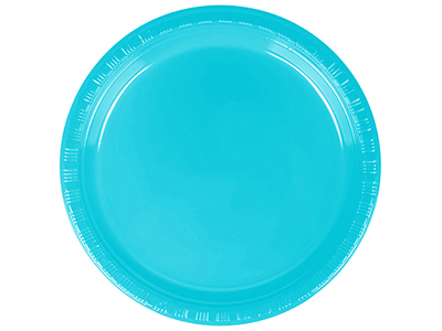 dinnerware/party-items/bermuda-blue-plastic-luncheon-plate