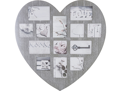 art-decor/wood-frames/wooden-heart-shaped-collage-frame-for-13-photos-2-assorted-colours