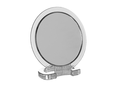 bathrooms/shaving-mirrors/transparent-round-mirror-on-base