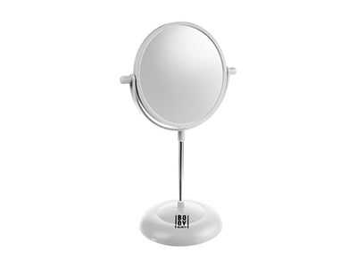 bathrooms/shaving-mirrors/white-pvc-mirror-on-base