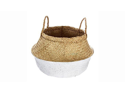 bathrooms/laundry-bins-baskets/white-natural-seagrass-laundry-basket