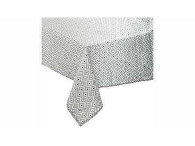 textiles-linen/table-cloths-runners-tea-towels/atmosphera-grey-and-white-ethnic-design-tablecloth