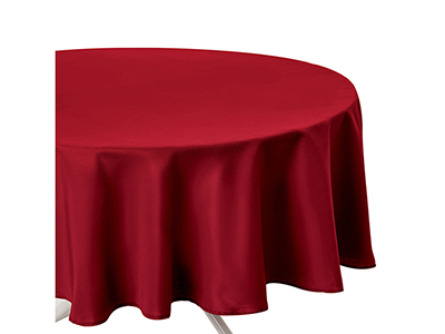 textiles-linen/table-cloths-runners-tea-towels/red-round-polyester-anti-stain-tablecloth-180-cm