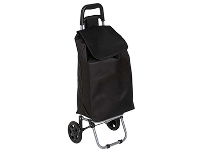 Suitcase roller up to 30 kg hand truck Shopping trolley Transport Luggage Foldable with tension belt