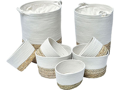 bathrooms/laundry-bins-baskets/seagrass-white-cotton-medium-laundry-basket