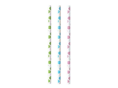 dinnerware/party-items/polka-dots-paper-straws-set-of-25-pieces