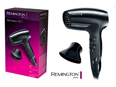appliances/hairdryers-straighteners-clippers/remington-compact-hair-dryer-1800-w