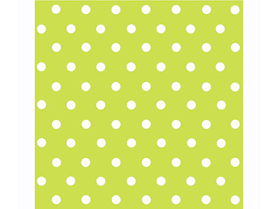 dinnerware/party-items/green-and-white-polka-dot-napkins