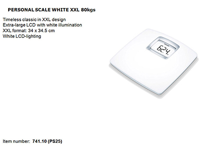 bathrooms/bath-weighing-scales/beurer-white-personal-scale-xxl-180kgs