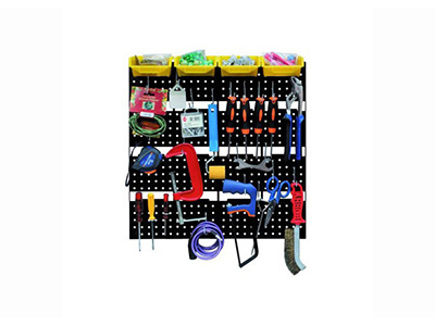 hand-tools/tool-boxes-storage-organisers/perforated-plastic-panel-for-tools-50-x-50-cm