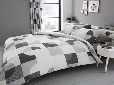 31ebe8d97b93 Duvet Set Alexa King Grey