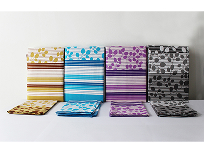 textiles-linen/sheets-pillow-cases-pillows/floral-and-line-design-cotton-summer-king-bed-sheet-set-150-cm
