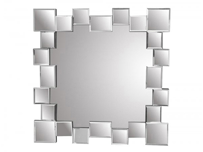 bathrooms/hanging-mirrors/silver-round-glass-squares-mirror