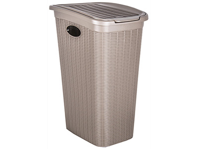 bathrooms/laundry-bins-baskets/elegance-taupe-laundry-bin-36-litres