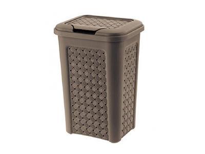 bathrooms/laundry-bins-baskets/tontarelli-wenge-arianna-laundry-basket-10-litres