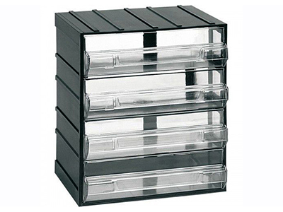 hand-tools/tool-boxes-storage-organisers/modular-plastic-storage-unit-with-4-drawers