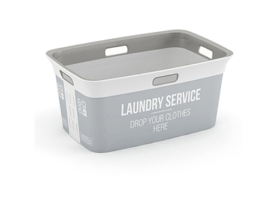 bathrooms/laundry-bins-baskets/chic-grey-laundry-service-basket