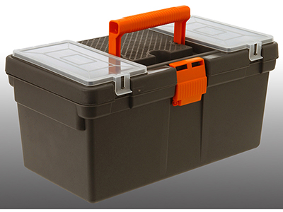hand-tools/tool-boxes-storage-organisers/grey-and-orange-plastic-toolbox-with-lid-storage