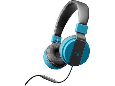94c4290d212 Cellularline Headphones + Mic Blue