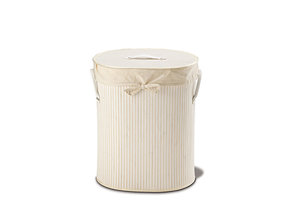 bathrooms/laundry-bins-baskets/white-bamboo-oval-laundry-basket