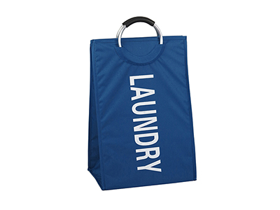 bathrooms/laundry-bins-baskets/blue-polyester-laundry-bin