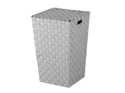 bathrooms/laundry-bins-baskets/grey-polyester-laundry-basket-46-litres