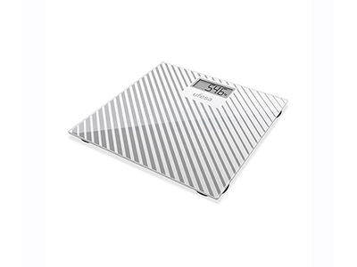 bathrooms/bath-weighing-scales/ufesa-white-and-grey-stripes-digital-body-scales-150-kg