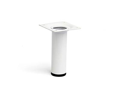 hardware-shelf-systems/legs/white-steel-leg-10-cm