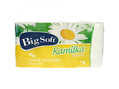 cleaning/other-cleaning/kamilka-white-toilet-rolls-8-pieces-3-ply-tissue-160-cm
