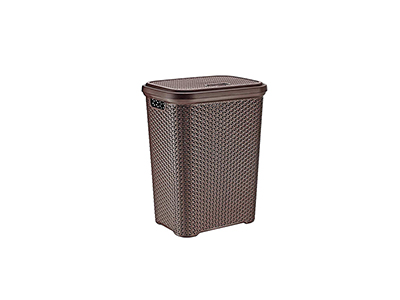 bathrooms/laundry-bins-baskets/rattan-brown-plastic-laundry-bin-35-litres