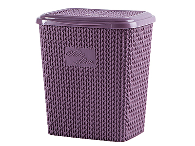 bathrooms/laundry-bins-baskets/woven-effect-basket-assorted-colours-10-litres