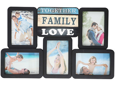 art-decor/wood-frames/collage-photo-frame-with-family-text-for-5-photos