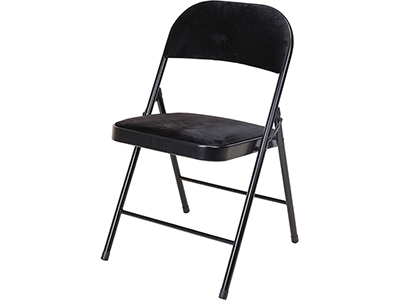 furniture/dining/black-velvet-seat-folding-chair