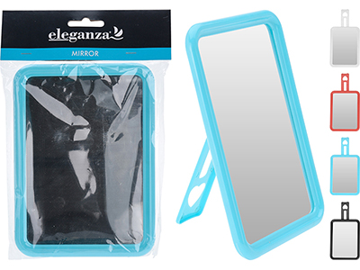 bathrooms/shaving-mirrors/plastic-frame-mirror-4-assorted-colours