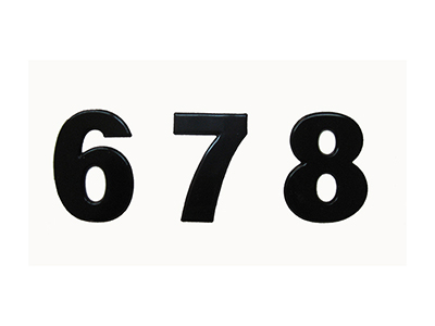 hardware-shelf-systems/door-numbers/aluminum-50-mm-black-self-adhesive-number-2