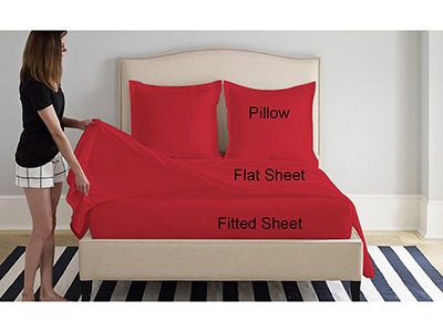 textiles-linen/sheets-pillow-cases-pillows/prestige-high-risk-red-cotton-double-bed-sheets-set