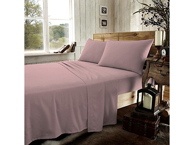 textiles-linen/sheets-pillow-cases-pillows/prestige-powder-pink-flannel-double-bed-sheets-set