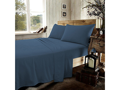 textiles-linen/sheets-pillow-cases-pillows/prestige-dark-blue-flannel-king-bed-sheets-set