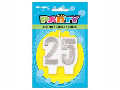 dinnerware/party-items/silver-birthday-candle-number-25